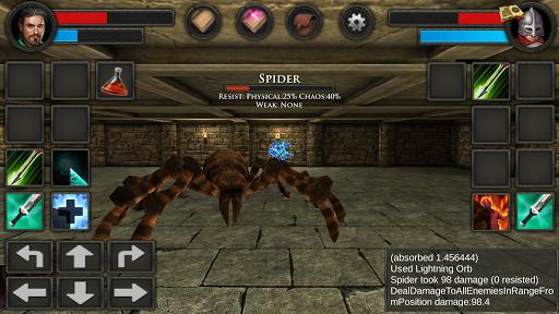 Moonshades: dungeon crawler RPG game  screenshots 14