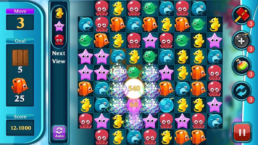 Ocean Match Puzzle 1.2.4 screenshots 7
