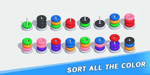 Color Sort Puzzle: Color Hoop Stack Puzzle 1.0.11 screenshots 22