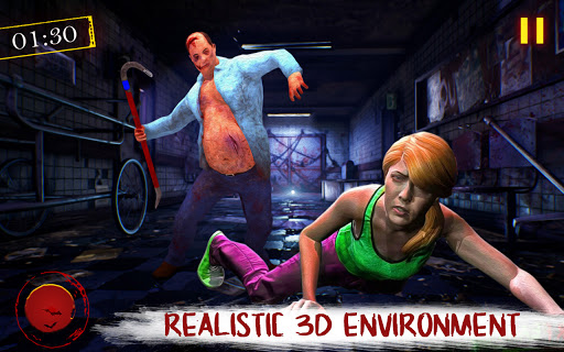 The Scary Twins 3D - Horror Death Escape Game 2021 1.2 screenshots 1