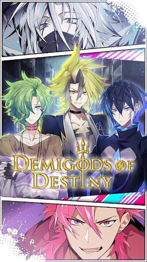 Demigods of Destiny:Romance Otome Game screenshots 1