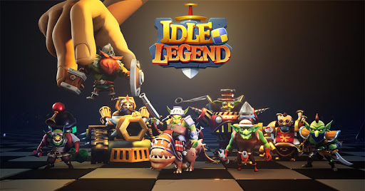 Idle Legend- 3D Auto Battle RPG screenshots 5