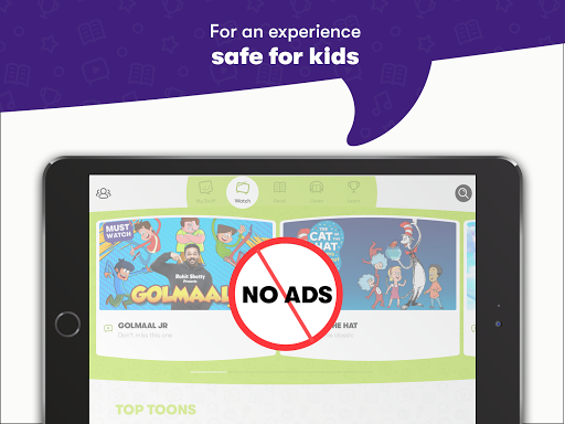 Voot Kids-Cartoons, Books, Quizzes, Puzzles & more android2mod screenshots 7
