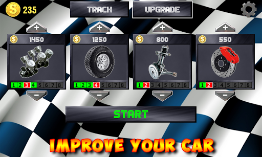 Racing stunts by car. Extreme driving apkpoly screenshots 3