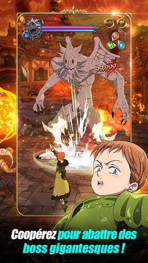 Code Triche The Seven Deadly Sins: Grand Cross (Astuce) APK MOD screenshots 5