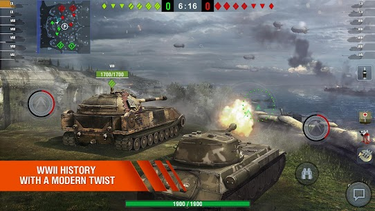 World of Tanks Blitz MMO MOD Apk 7.2.0.563 (Unlimited Gold) 4