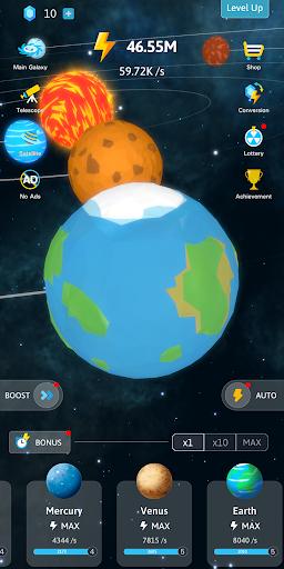 Idle Galaxy-Planet Creator 1.0.4 screenshots 2