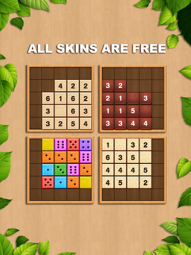 TENX - Wooden Number Puzzle Game  screenshots 8