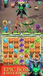 Match & Slash: Fantasy RPG Puzzle MOD APK 1.0.1 (ADS Free) 4
