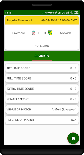 premier league livescore of en football screenshot 3