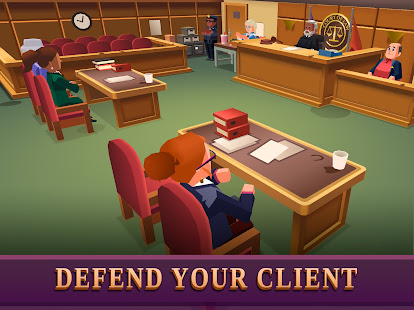 Law Empire Tycoon - Idle Game Justice Simulator - Screenshot 6