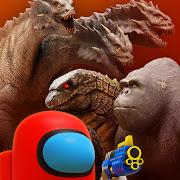 Godzilla vs Kong : King Ghidorah invasion