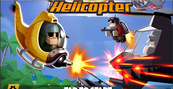 Heli Hero : Helicopter Shooter MOD APK 0.9 (Unlimited Money) 9