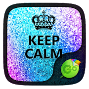 Keep Calm GO Keyboard theme