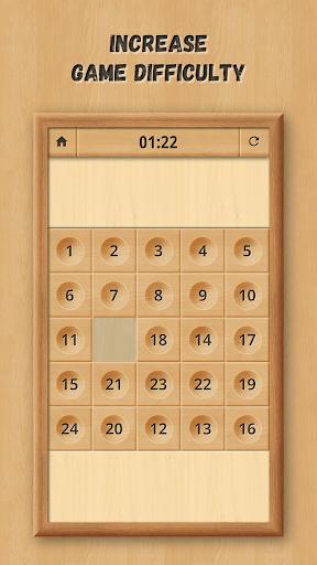 Sliding Puzzle: Wooden Classics  screenshots 3