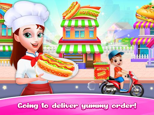 Hot dog Maker & Delivery game apkpoly screenshots 2