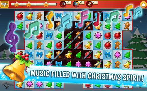 Christmas Crush Holiday Swapper Candy Match 3 Game 1.66 screenshots 13