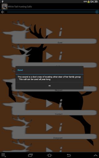 Whitetail Hunting Calls  screenshots 7