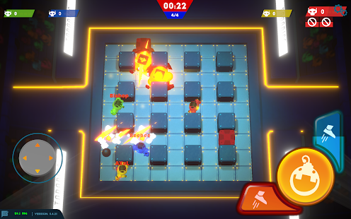 Bomb Bots Arena - Multiplayer Bomber Brawl Screenshot