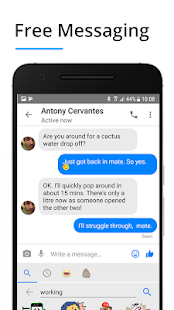 Messenger Pro for Messages, Video Chat for free Screenshot