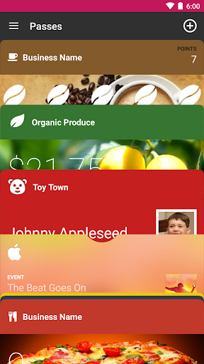WalletPasses | Passbook Wallet 1.2.3 Screenshots 1