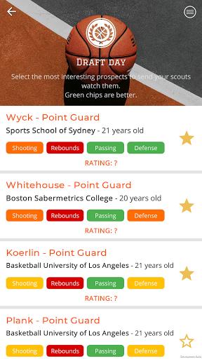 Astonishing Basketball 21- General Manager Game  screenshots 7