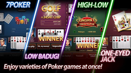 Poker Master - 7poker, High-Low, One Eyed Jack 1.9.1 screenshots 1