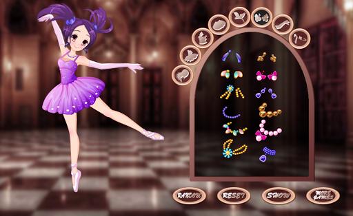 Pretty girl Ballerina dress up - girls games screenshots 2