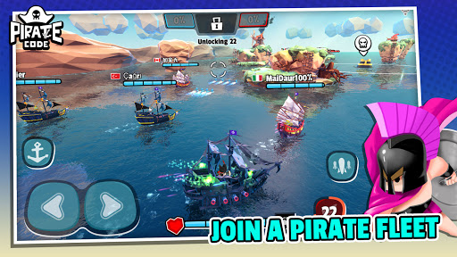 Pirate Code - PVP Battles at Sea 1.2.8 screenshots 16