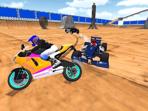 motorcycle infinity driving simulation extreme screenshot 2