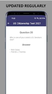 US Citizenship Test: July 2021 Update