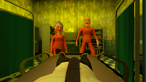 Grandpa and Granny 3: Death Hospital. Horror Game apktreat screenshots 1