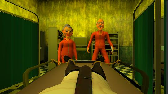 Grandpa and Granny 3: Death Hospital Horror Game Mod Apk 0.8 (Free Shopping) 1