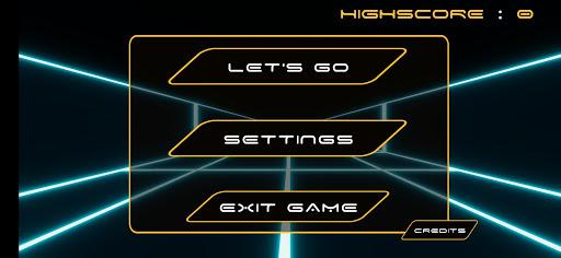 Neon Corridor screenshot 2