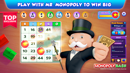 Bingo Bash featuring MONOPOLY: Live Bingo Games  screenshots 1