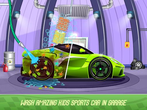 Kids Sports Car Wash Cleaning Garage 1.16 screenshots 2