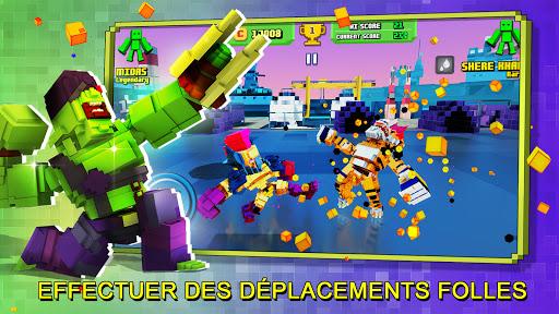 Télécharger Gratuit Super Pixel Heroes 2021 mod apk screenshots 6