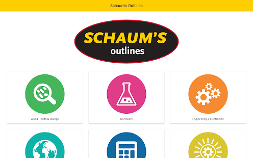 Schaum's Outlines