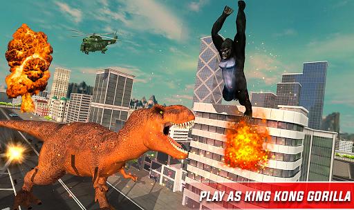 Monster Dino Vs King Kong-City Rampage Simulator 1.0.3 screenshots 6