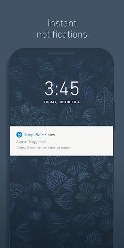 SimpliSafe Home Security App modavailable screenshots 4