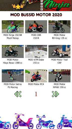 Mod Bussid Motor Ninja 1.1 Screenshots 3
