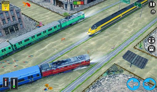 Underwater Bullet Train Simulator : Train Games screenshots 12