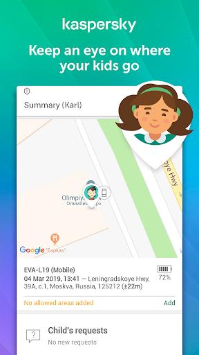 Parental Control & Kids GPS: Kaspersky SafeKids  screenshots 3