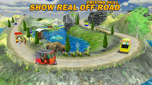 Offroad Tuk Tuk Rickshaw Driving: Tuk Tuk Games 21 screenshots 15