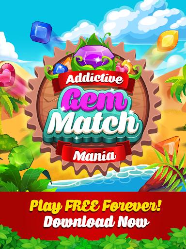 Addictive Gem Match 3 - Free Games With Bonuses  screenshots 13