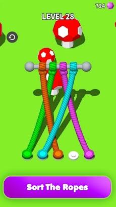 Untangle 3D: Tangle Rope Master - 楽しいパズルゲームのおすすめ画像3
