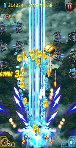 Galaxy Attack Thunder Shooter 2022 APK MOD – Pièces Illimitées (Astuce) screenshots hack proof 1