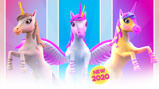 Magical Pony Run - Unicorn Runner apkpoly screenshots 14