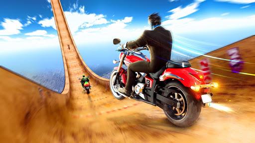 Mega Ramp Motorbike Impossible Stunts screenshots 4