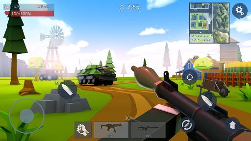 Télécharger Gratuit Rules Of Battle: Online Mad PVP with gunz Shooter APK MOD (Astuce) screenshots 1